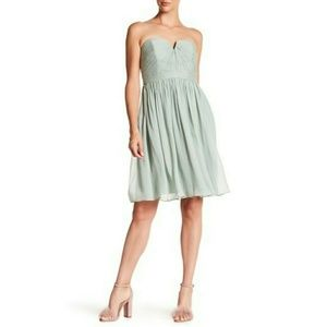 J.Crew Nadia silk bridesmaid dress Dusty Shale 6